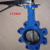 Large picture lug type butterfly valve