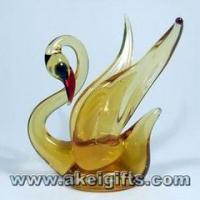 Large picture China hand-blown Glass Animal Glass Gifts