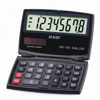 Large picture Dual Power Solar and Battery Handheld Calculator