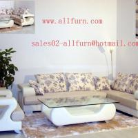 Large picture leather sofa(sales02-allfurn@)
