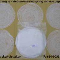 Large picture Net rice paper