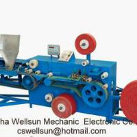Large picture knitting and packaging machine