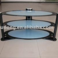 Large picture LCD Glass TV Stand