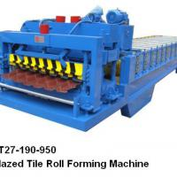 Large picture Glazed Tile Roll Forming Machine