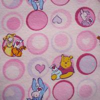 Large picture cotton flannel printing fabric