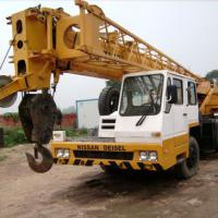 Large picture tadano used crane truck 25t construction arm crane