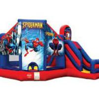 Large picture spiderman bouncer