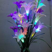 Large picture LED lily flower