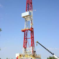 Large picture drilling rig