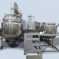 Large picture vacuum emulsifying blender