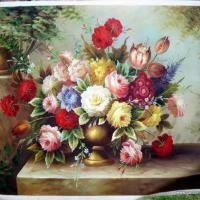 Large picture Decoration painting-Flower