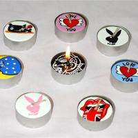 Large picture Decorative Hand Crafted  Tea Light Candles