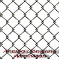Large picture Galvanized Chain Link Wire Mesh