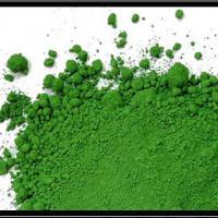 Large picture iron oxide green