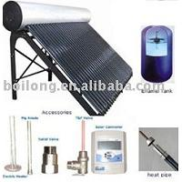 Large picture heat pipe solar water heater