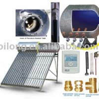 Large picture compact solar water heater