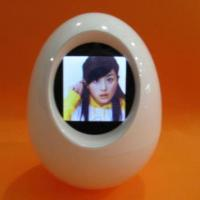 Large picture 1.5 inch egg digital photo frame