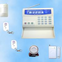 Large picture GSM Home Alarm System With LCD Color Display