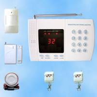 Large picture Learning code 32 wireless zones home alarm system