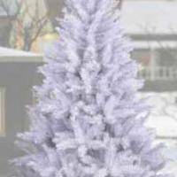 Large picture artifical christmas trees(white)