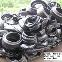 Large picture green tyre scrap