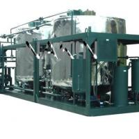 Large picture waste engine oil recycling machine
