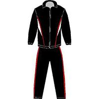 Large picture jogging suit