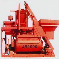 Large picture Twin-shaft forced concrete mixer