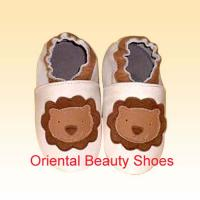 Large picture soft sole leather baby shoes