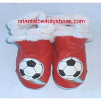 Large picture soft sole leather baby boots