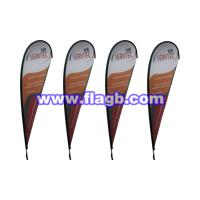 Large picture teardrop flags