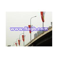 Large picture road flag