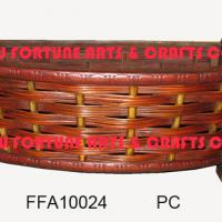 Large picture bamboo baskets (planters)