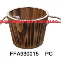Large picture wooden baskets (planters)