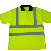 Large picture safety Polo shirt