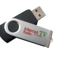 Large picture USB internet Radio/TV player