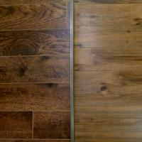 Large picture laminate flooring with high clarity