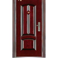Large picture steel security door