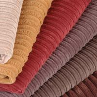Large picture corduroy fabric