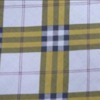 Large picture 100 % polyester checks fabrics