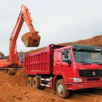 Large picture sinotruk howo 6*4 dump truck