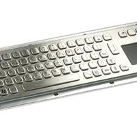 Large picture Vandal proof Stainless Steel Keyboard with Touchpa
