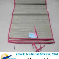Large picture stock stocklot closeout surplus Natural Straw Mat