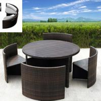 Large picture Poly resin table set