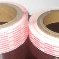 Large picture permanent bag sealing tape