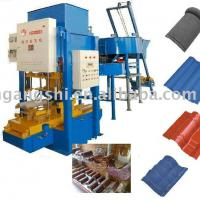 Large picture automatic coloured tile and brick machine