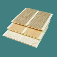 Large picture PVC wall panel (in wood grain)