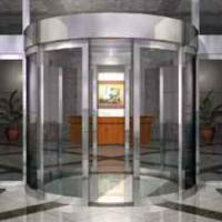 Large picture Automatic Curved Sliding Doors