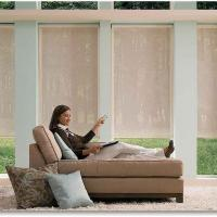 Large picture Remote Control Window Roller Shades