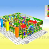 Large picture 700*400*300cm indoor playground